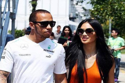 Lewis Hamilton folgt in den Fußstapfen seiner Freundin Nicole Scherzinger