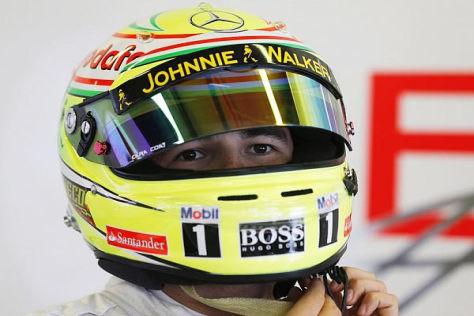 McLaren-Neuzugang Sergio Perez hatte sich bisher auch mehr ausgerechnet
