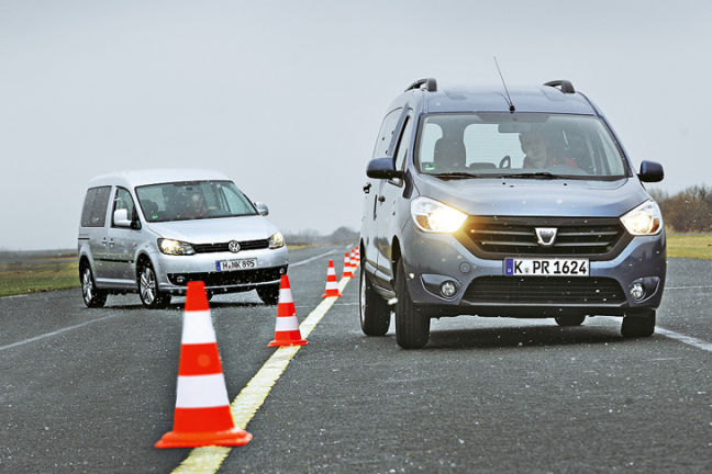 Video: VW Caddy vs. Dacia Dokker