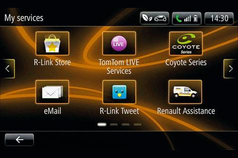Multimedia-System Renault R-Link