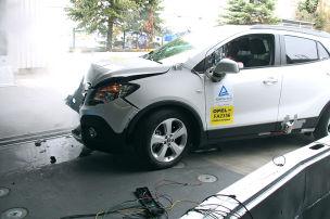 Opel crasht R1234yf-Mokka