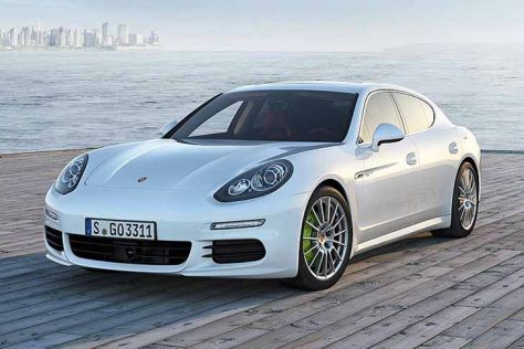 Porsche on Porsche Panamera Facelift  Shanghai Auto Show 2013   Autobild De