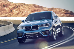 BMW schrumpft den X6