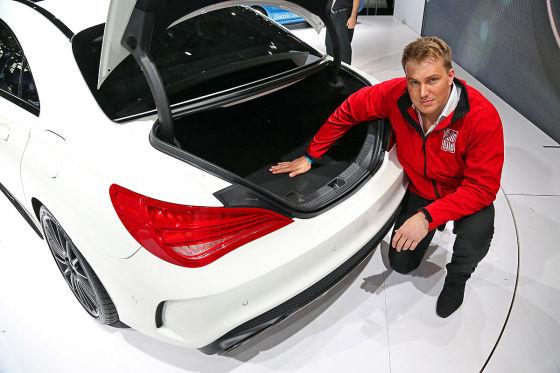 Sitzprobe Mercedes CLA45 AMG