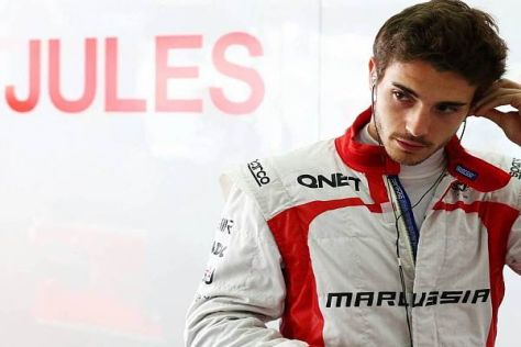 Trägt Jules Bianchi auch in der Saison 2014 den Marussia-Overall?