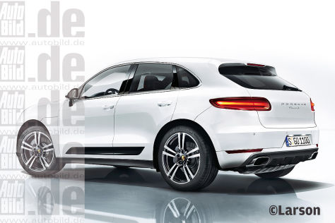 Porsche Macan Illustration