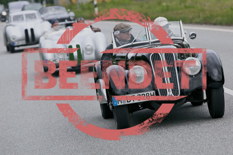 Werden Sie Kopilot bei der Mille Miglia!