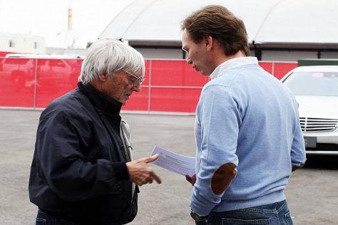 Red-Bull-Teamchef Christian Horner zählt zu den Begünstigten von Bernie Ecclestone