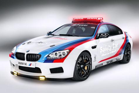 BMW M6 Gran Coupé: Moto GP Saftey Car 2013
