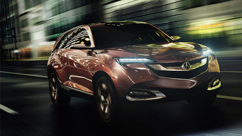 Acura SUV-X Concept: Shanghai Auto Show 2013