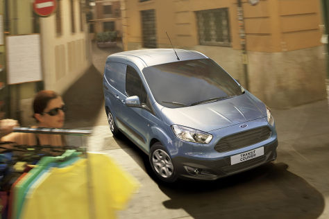 Ford Transit Courier (2014)