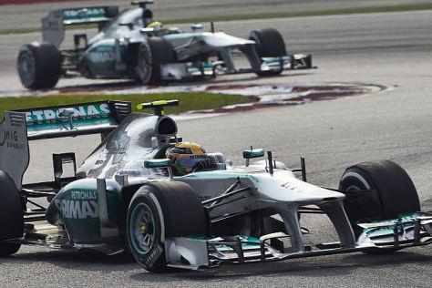 Wird Nico Rosberg nun seine Strategie im Stallduell ändern?