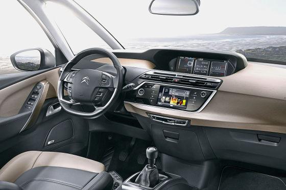 Citroën C4 Picasso Cockpit Armaturenträger