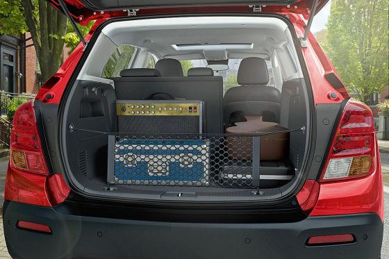 Chevrolet Trax rot Kofferraum
