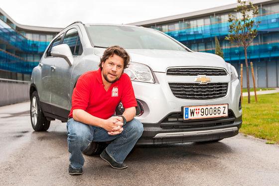 Chevrolet Trax silber Boris Pieritz