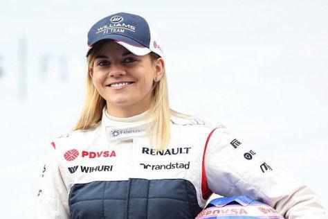 Susie Wolff möchte endlich einen richtigen Test für Williams absolvieren