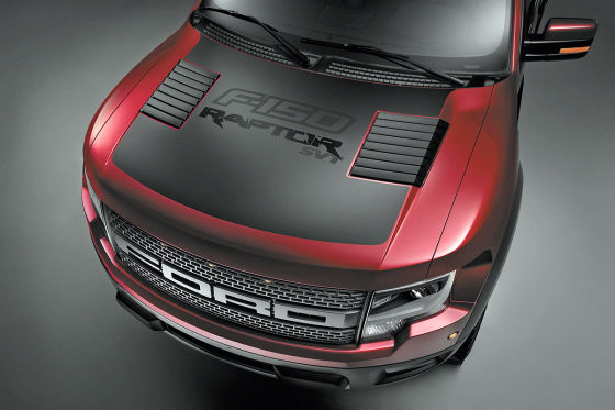 Ford F-150 SVT Raptor Special Edition Front