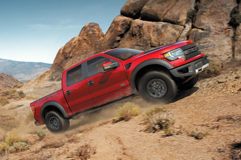 Ford F-150 SVT Raptor Special Edition Offroad
