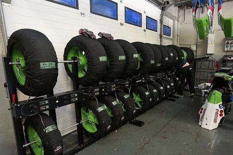 Die Qual der Wahl: Welcher Reifen darf es beim Rennen sein?