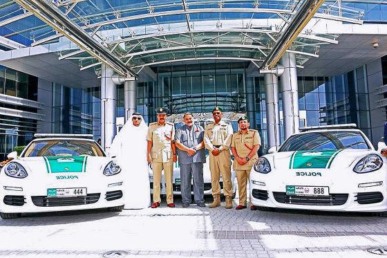 Öko-Flitzer für Dubais Polizei