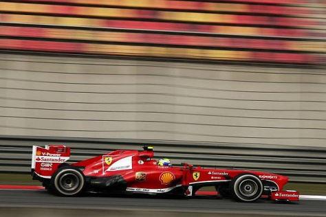 Massa fuhr auf dem weichen Reifen zur Bestzeit und überraschte sich dabei selbst