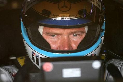 Häkkinen blieb in der DTM nicht nur dem Helm, sondern auch dem Erfolg treu