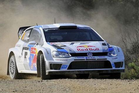 Sebastien Ogier führt die Rallye Portugal nach dem Freitag an