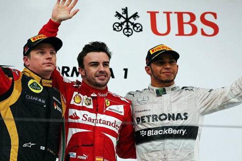 Fernando Alonso fuhr in Schanghai ein starkes Rennen und holte sich den Sieg