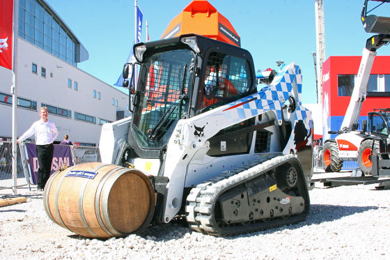 Bobcat T590 Sonderedition Bavaria
