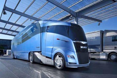 Brüssel stellt Weichen für aerodynamische Lkw