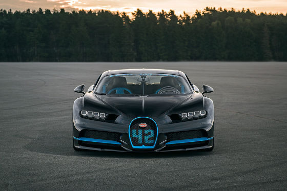 Geschwindigkeitsrekord: Bugatti Chiron