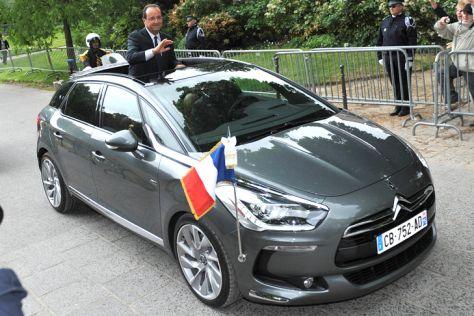 Privatwagen französischer Minister (2013)