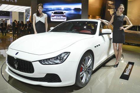 Maserati Ghibli Hostessen Shanghai