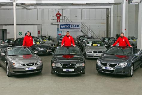 Saab 9-3, Volvo C70, VW Eos