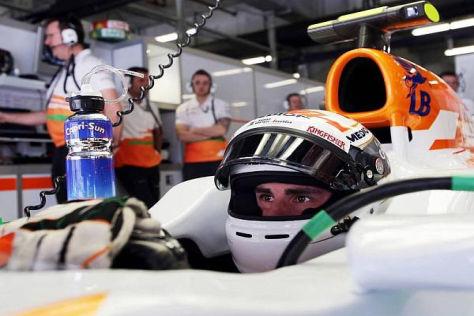 Adrian Sutil möchte in Bahrain ankommen und möglichst viele Punkte holen