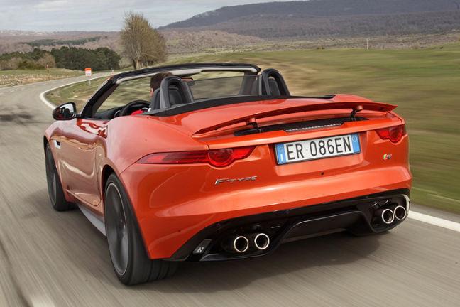 altes jaguar cabrio