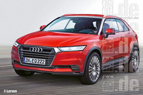 Audi Q2 Illustration