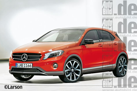 Mercedes X Cross Illustration