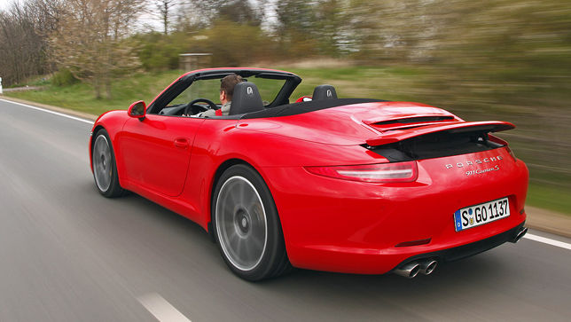 video porsche 911 carrera 4s cabrio. Black Bedroom Furniture Sets. Home Design Ideas