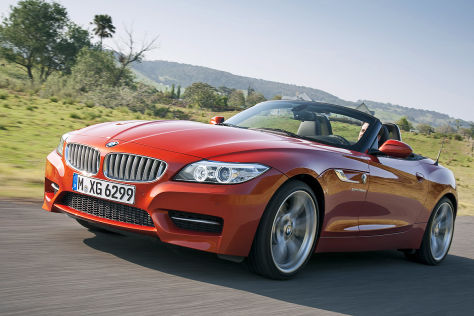 BMW Z4 Roadster Facelift