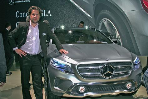 Boris Pierizt mit Mercedes GLA