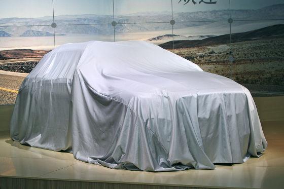 Mercedes GLA  verhüllt