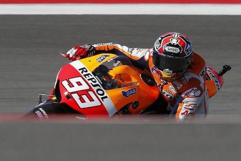 Marc Marquez startet sein zweites MotoGP-Rennen von der Pole-Position