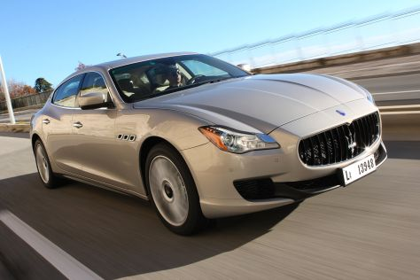 Maserati Quattrioporte V6 Basismotorisierung Frontansicht