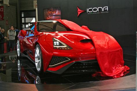 Icona Vulcano auf der Shanghai Auto Show 2013