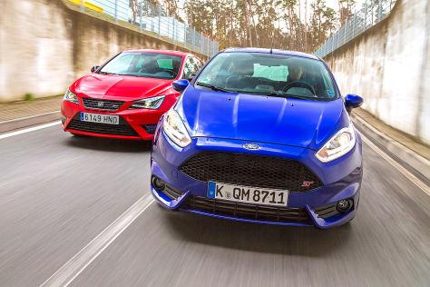 Seat IbizaCupra/Ford Fiesta ST: Vergleich