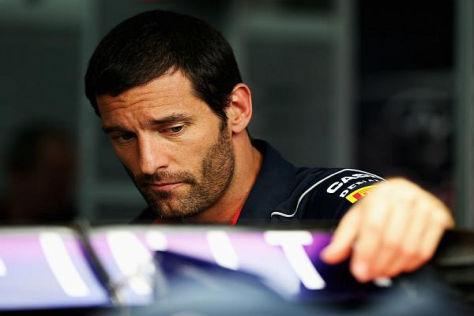 Red-Bull-Pilot Mark Webber klebt seit Sepang das Pech an den Fersen