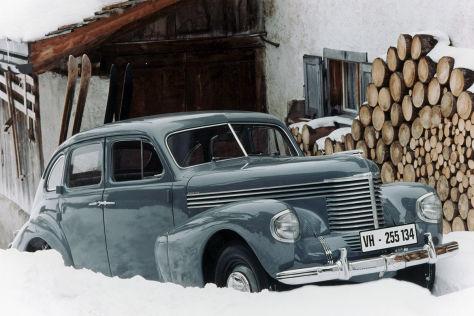 75 Jahre Opel Kapitän 1938