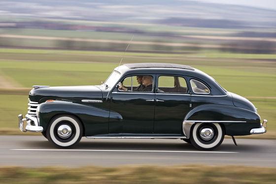 Opel Kapitän: Vier Sterne zum Geburtstag