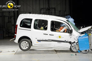 Citan versagt im Crashtest